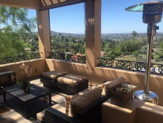 Spanish Hacienda In Mt Helix With view!!