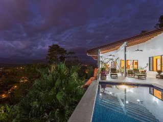 A 3 bedroom private piece of luxury living in the heart of Manuel Antonio