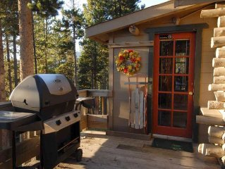 Evergreen's Colorado's Log Cabin - Great Place for Spring Break Getaway