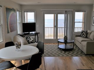 GORGEOUS Beachfront Condo -- New 2 Br -- 90ft From Water -- Sleeps 5