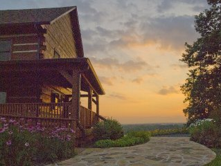 Mountain lodge on 86 acre horse estate,  45 min. from DC