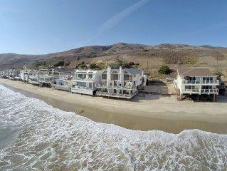Oceanfront Townhouse on Quiet Malibu Road
