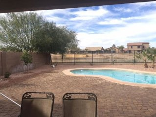Gorgeous, 4 Bedroom Home With Heated Private Pool Located In Johnson Ranch