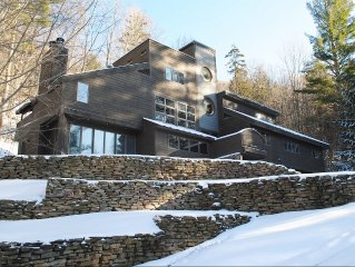 Spacious, Modern Home In Wooded, Mountain Setting. Think snow!