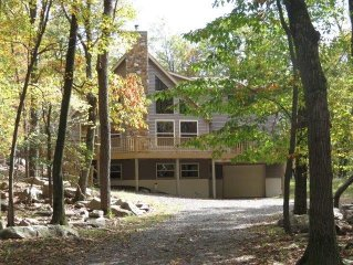 Gorgeous Chalet in the Perfect Setting, Truly One of the Poconos Best