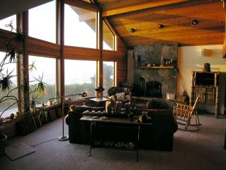 Tillicum Lodge, a beachfront, cedar home on a private acre.