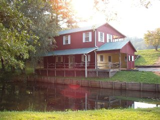 Cottage, Private Stocked Fishing Pond, Great View, Mills River Area