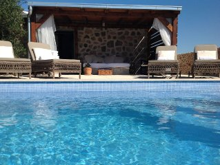 Stone Cottage In Olive Grove With Lovely View And Private Heated Pool!