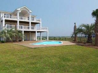 Beautiful Home On The Bay With 3 Stop Elevator And Swimming Pool