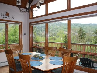 Stunning Mt Views 4br/4ba in Bretton Woods, Mount Washington Place, FREE Shuttle