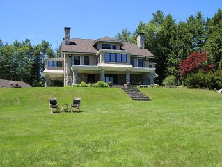Historical Estate On The Western Shore Of Sebago Lake