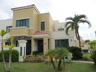 Walkway to Beach-Fully Furnished & Clean-Quite & Safe Gated Ocean-front complex