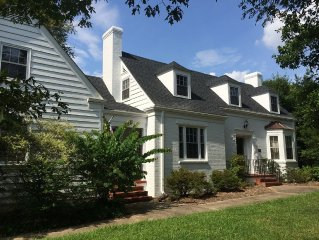Historic Home Near Downtown Raleigh Great For Groups And Business Travel