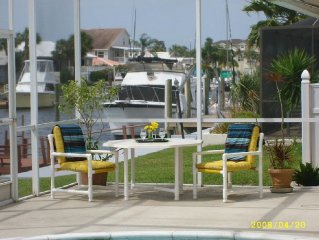 Beautifully Furnished Home with Pool and Boat Dock