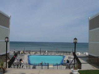A Studio Beachfront Condo with a Pool!!  Sleeps 3