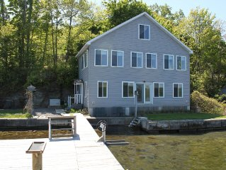 Vacation Home Right On The Water's Edge of Seneca Lake!