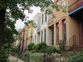 Two Bedroom Historic House, Walking Distance to National Mall