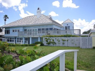 Stay Directly On The Beach At Direct Oceanfront Estate Home with heated pool