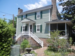 Historic home, walking distance to downtown attractions