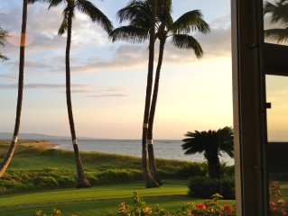 Gorgeous Maui Oceanview: 2 BR/2 BA Condo - Steps from the Beach!
