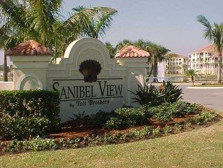 Large 2 Bdrm Sanibel View Condo, Near Golf, Beaches & Shops