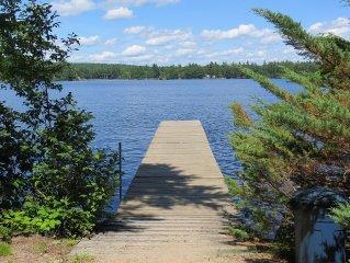 Spacious 4 Bedroom Waterfront Home on Moose Pond/Lake & Shawnee Peak