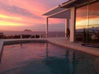 Casa na Frente do Mar com Espectacular pôr do Sol - Spa e Piscina Privada 6Suite