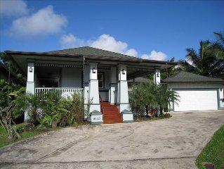 New Hanalei Hawaiian-Style Home  - TVNC 5160