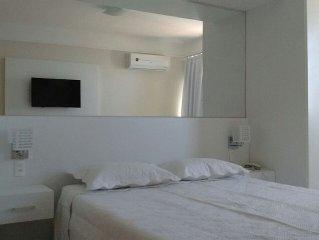 Apartamento em Ponta Negra com linda vista panoramica para o mar.