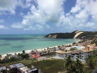 Apartamento em Ponta Negra com linda vista panoramica para o mar!