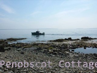 Ocean-front Cottage Retreat on Penobscot Bay Camden