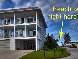 * 450 ft from the beach, spacious, quiet & pet-friendly. Ask if need short stay.
