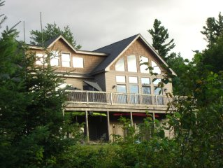 Spacious, Newly Built, Custom Home 5 Min. From Cannon Mt With Beautiful Mt Views