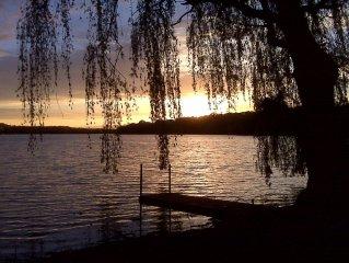 Sugar Creek Lake House - A Lakefront Paradise Near Lake Geneva! Monthly Rental