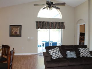 **Beautiful 4bd/4bth Home W/ Pool&Hotub 9Miles Away From Attractions**