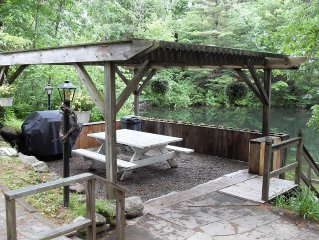 Waterfront Retreat On Mini 'On Golden Pond' 10 Miles From Lake George