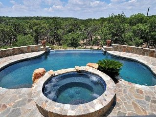 Private Serene Hill Country Place in a Gated Community