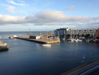 Penthouse Apartment Overlooking The Harbour - Galway Bay View