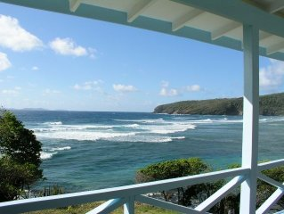 Spacious Beachfront Villa on Lovely Bequia - Park Bay House