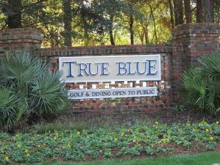 True Blue Cozy 2B/2B; Pet friendly/WiFi/Golf/Pools/Beaches