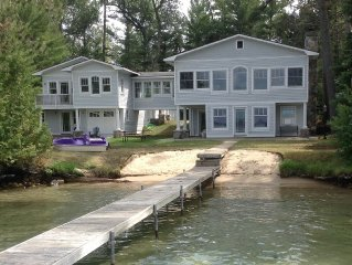 Quality Executive Cottage With Pure Sand Frontage On Torch Lake