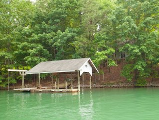 Happy Oars - Lakefront Cove Private Dock. Pool Table, Ping Pong, Kayak, Air Hock