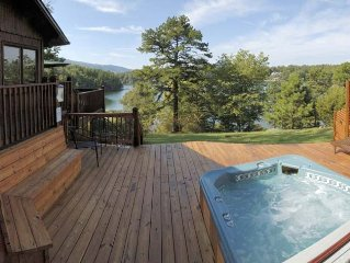 Cedar Cabin at Silver Bay View Cottages on Smith Mountain Lake