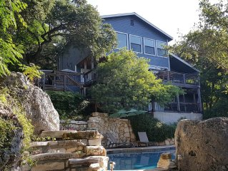 Little Lanai - Awesome Lake View - Pool, Hot Tub, Large Kitchen, Guest House!