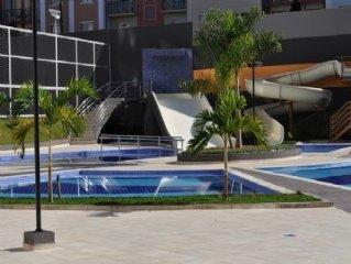 Magnifico Flat em Rio Quente  - 200 mts do Hot Park