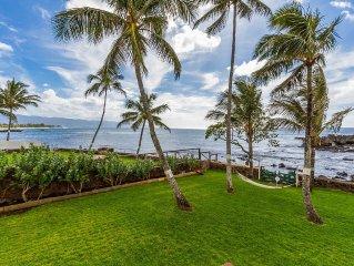 Spectacular Waimea Oceanfront Estate