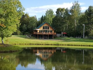 6 Bed, 2 Bath Rustic, Private Chalet Now Booking For Summer