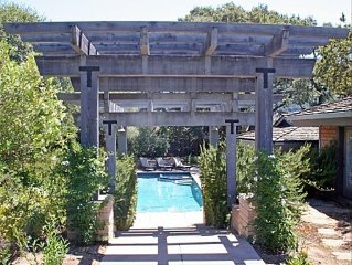 Provence in Carmel Valley with Pool-Sleeps 10