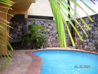 PROMO - Villa Exotique avec Piscine privee, proche d'une magnifique plage