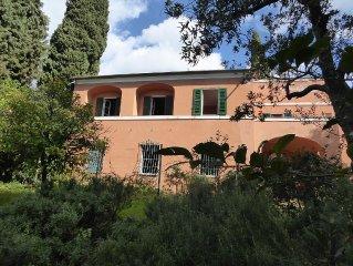 Casa tipica ligure con giardino